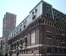 Located in the NoMad District is the 69th Regiment Armory