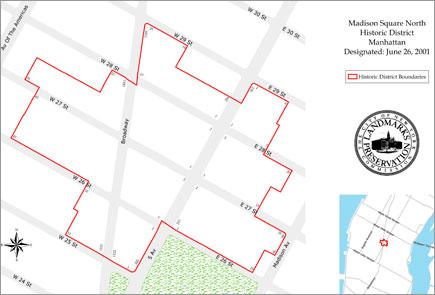 NoMad New York Map of Neighborhood
