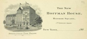 the historic hoffman house hotel in nyc