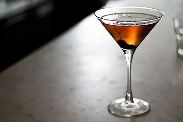 The Manhattan Cocktail originated in NoMad New York