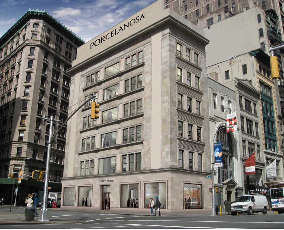 Porcelanosa has purchased the historic Commodore Criterion building in NoMad New York