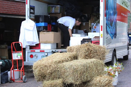 Alinea Packing up Their Uhaul to travel to Eleven Madison Park