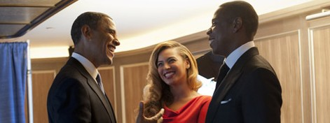 President Obama hosted a fundraiser in NoMad with Jay-Z and Beyonce