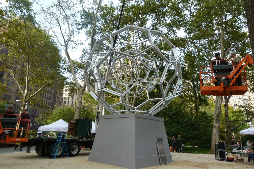 New York Art Installation in Madison Square Park
