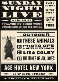 The Bones of J.R. Jones live at Ace Hotel