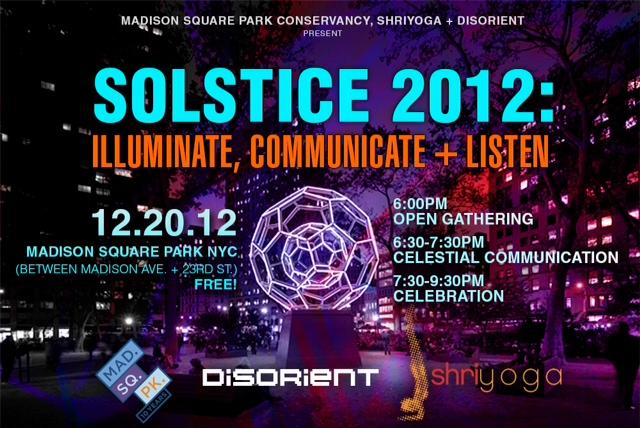madison square park solstice 2012 event