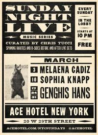 genghis hans performs at ace hotel