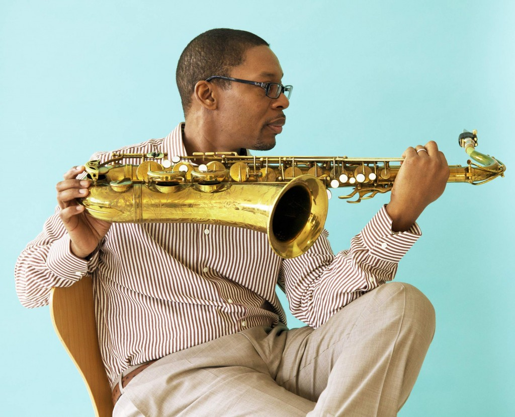 ravi coltrane performs at jazz gallery