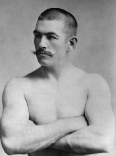 Boxer and Saloon owner John L. Sullivan