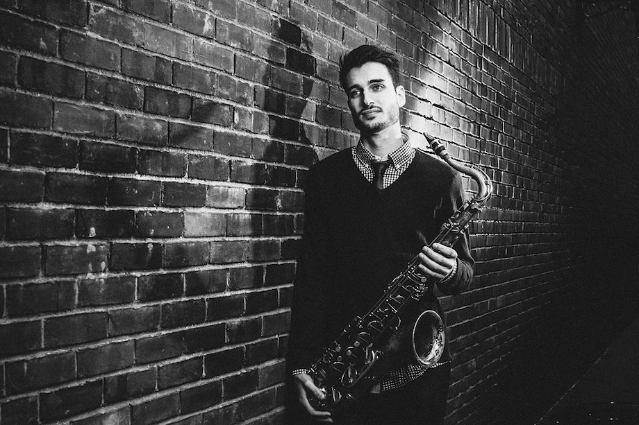 chad lefkowitz brown performs at the jazz gallery