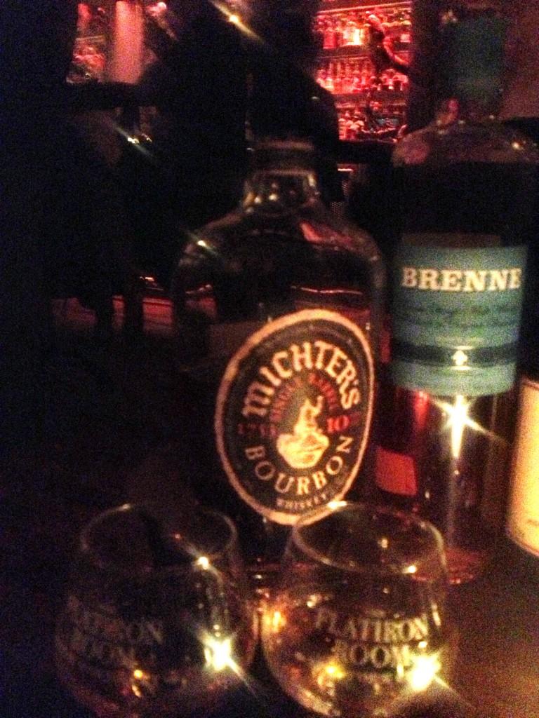 mitcher's bourbon at the flatiron room