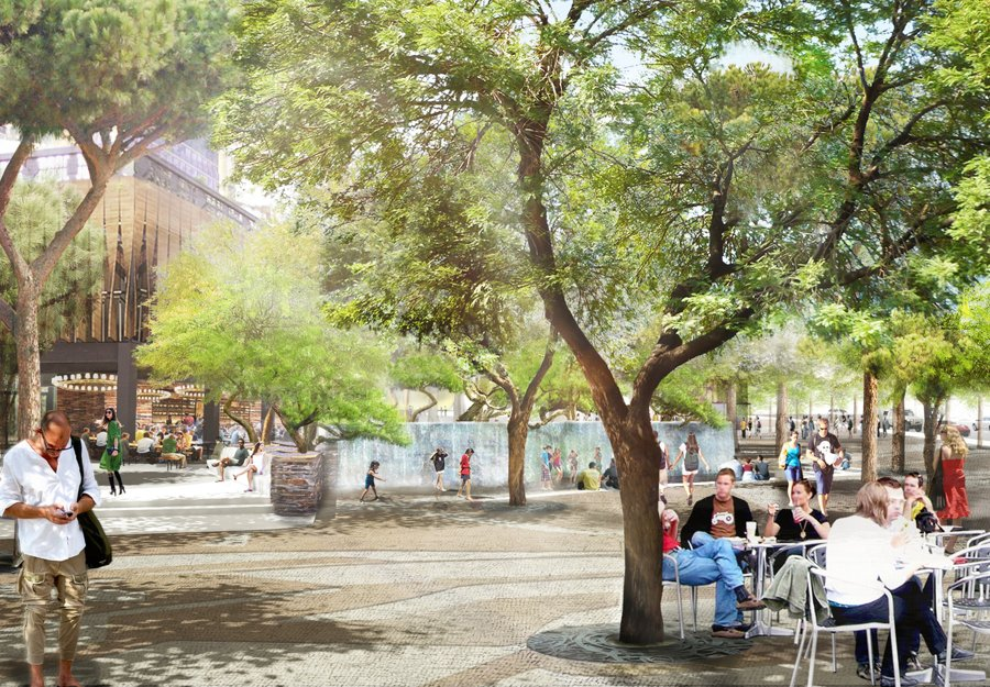 there are plans for a madison square park replica in las vegas at the MGM