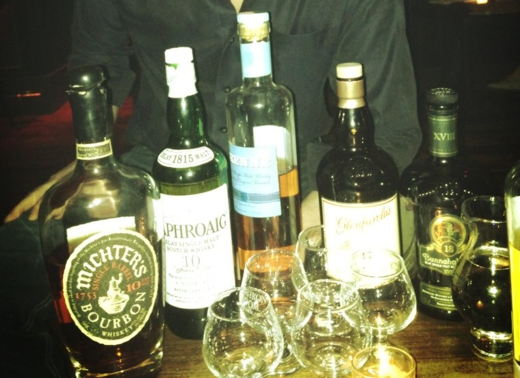 flatiron room owner tommy tardie takes us through a whiskey tasting