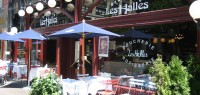 les halles offers half price champagne on sunday nights!