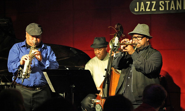 azar lawrence quintet performs at jazz standard