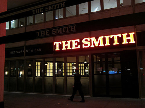 Restaurant The Smith opens a new location in NoMad, NYC, a short walk from Madison Square Park.
