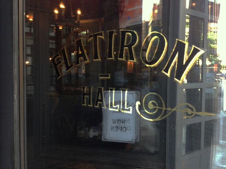 Flatiron beer hall opens in NoMad new york.