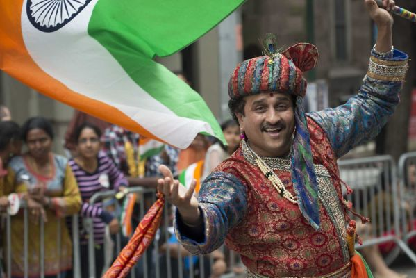 the 2013 india day parade ran through madison square park