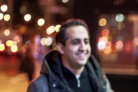 paul raffaele DJing at Ace Hotel