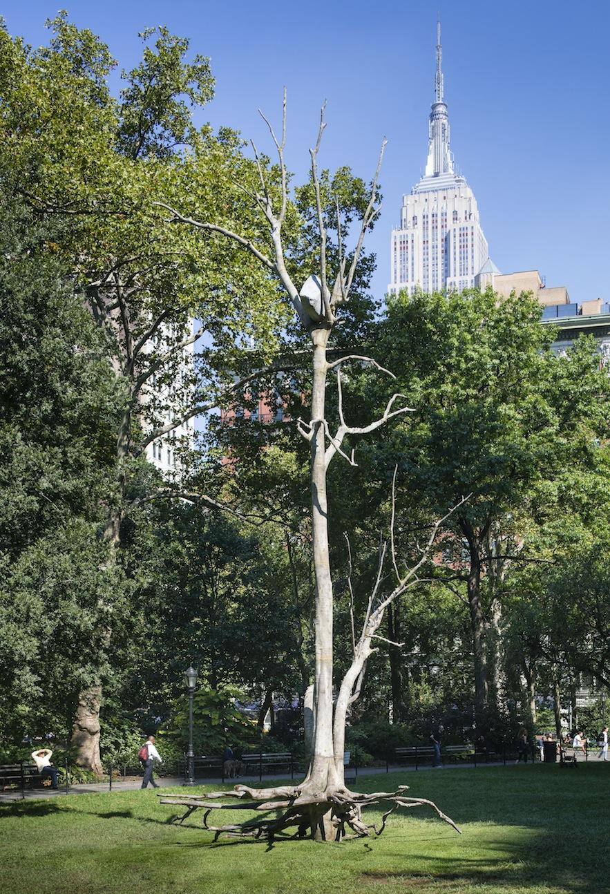 madison square park art installation giusepe penone