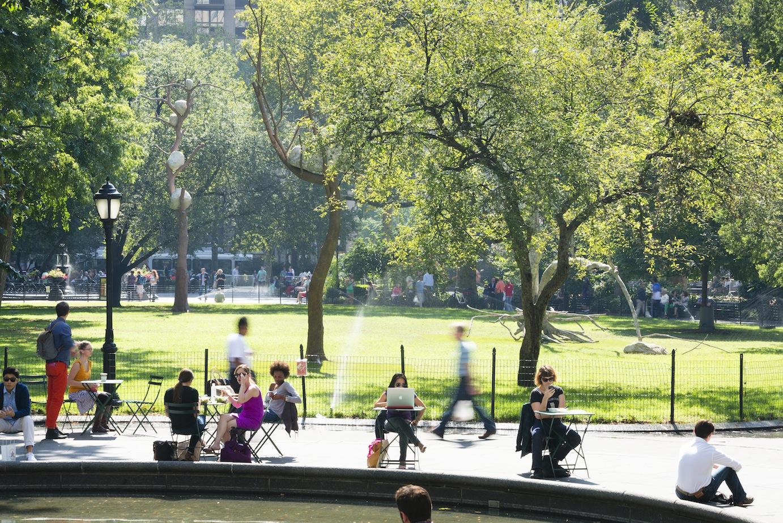 giuseppe penone madison square park