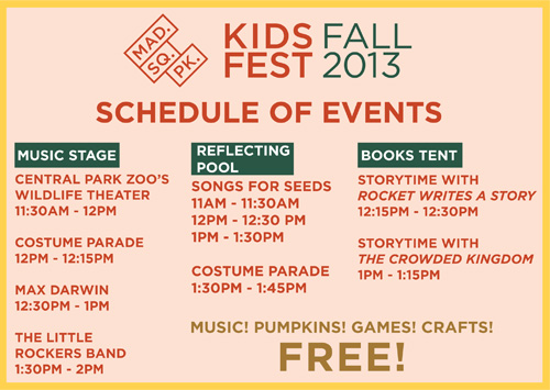 fall kids fest schedule of events
