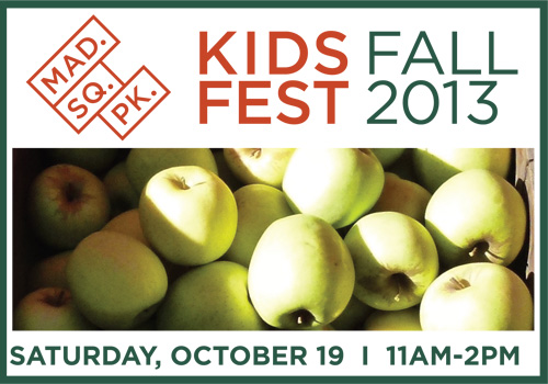 fall kids fest 2013 in madison square park