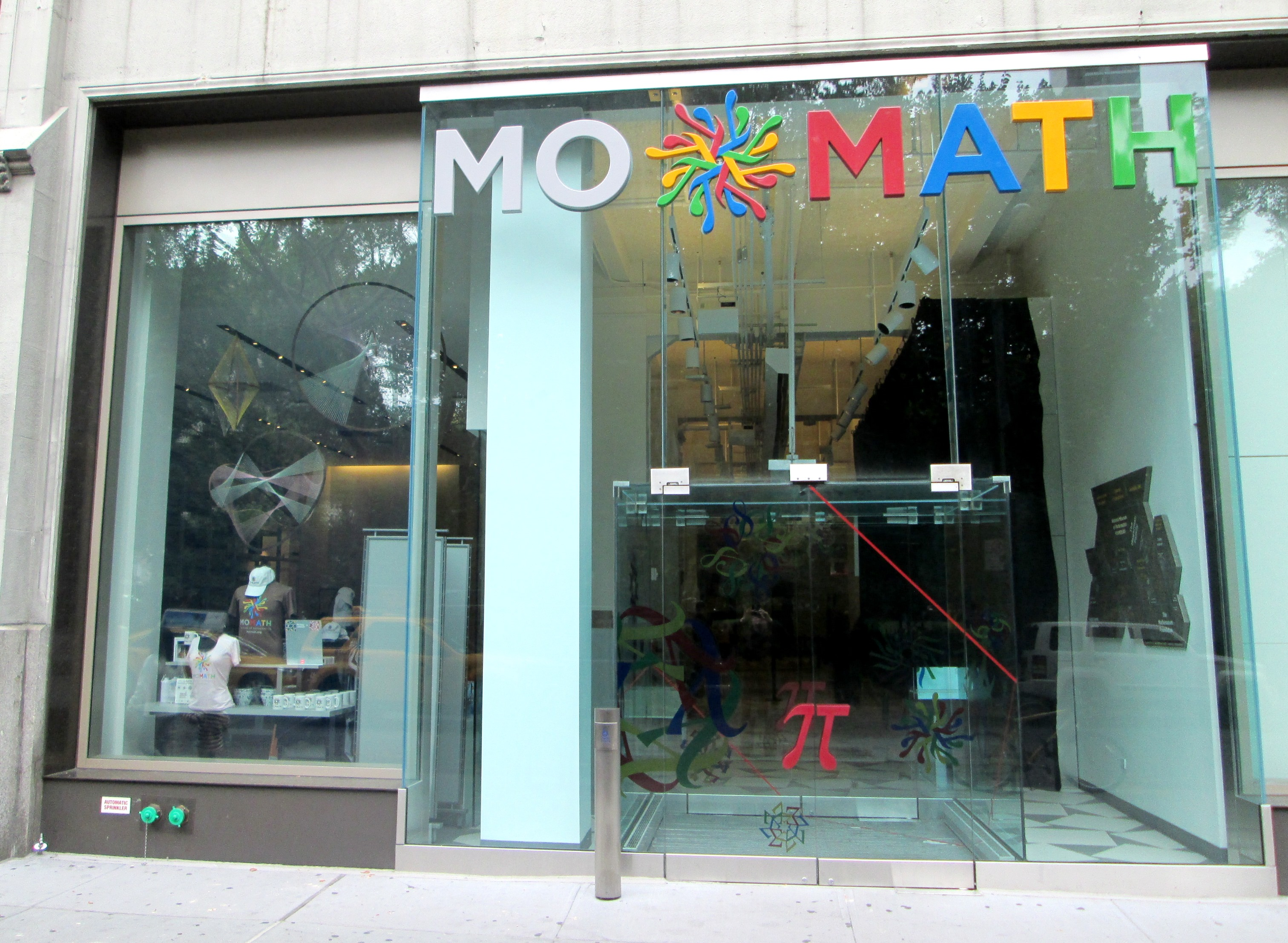 Swing by NoMad NY to visit MoMath, the nation's only museum of mathematics!