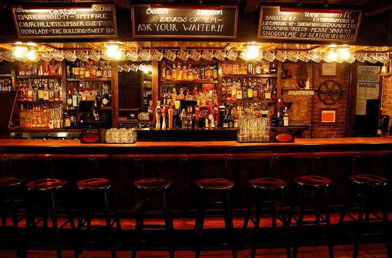 Stop by The Churchill Pub & Tavern in NoMad NY for some British food and drink