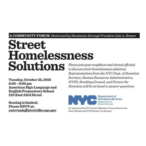 nomad community meeting homelessness