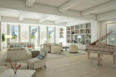 Take a look inside Jennifer Lopez's house in NYC.