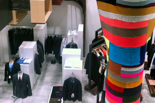 Head over to NoMad NY and check out high-end and boutique fashion at Dover Street Market
