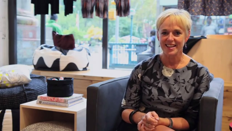 Lynn Shanahan talks about how NoMad is the perfect home for Marimekko