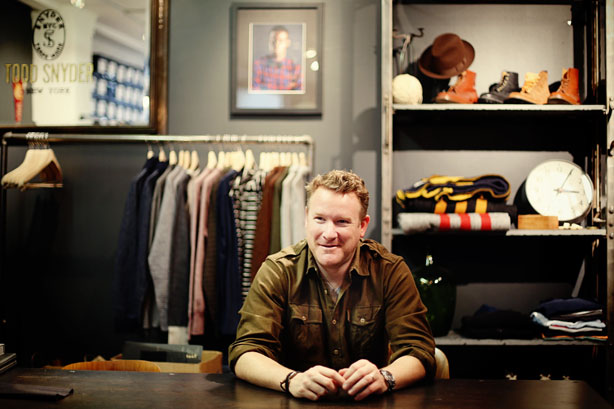 Designer Todd Snyder gives us his favorite restaurant picks in NoMad, New York City.