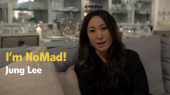 jung lee talks about why she's located in the nomad neighborhood