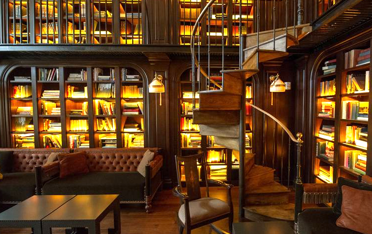 British newspaper The Telegraph recently raved about The Nomad Library Bar