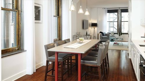 The Centurian Building condos on 1182 broadway are available to rent