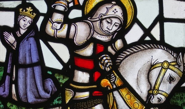 Head over to The Churchill Pub and Restaurant in NoMad to celebrate St. George's Day!
