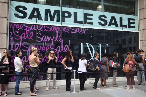 Stop by the Diane von Furstenburg sample sale in NoMad this weekend