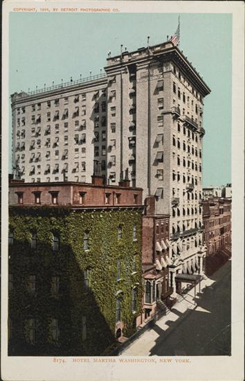 Experience NoMad discusses the history and rich legacy of The Martha Washington Hotel and examines the hotel's vintage memorabilia and postcards