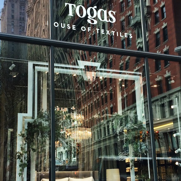 Togas House Of Textiles opens in NoMad, NYC