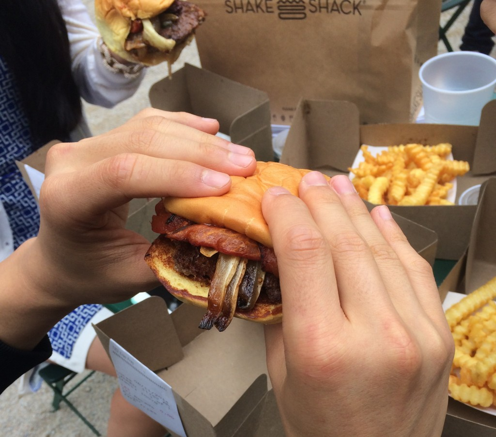 andrew zimmerns cabrito butter burger as part of shake shack's decade of shack