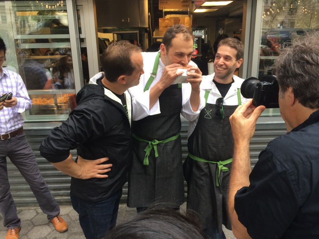 daniel humm's burger at shake shack