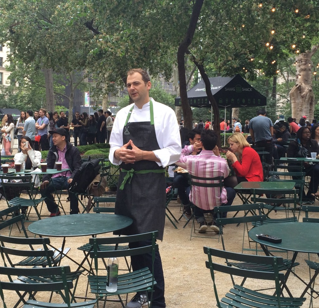 daniel humm interviewed in madison square park