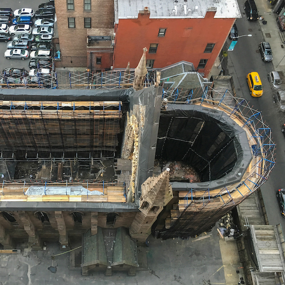 Cathedral of St. Sava Rebuilding Begins
