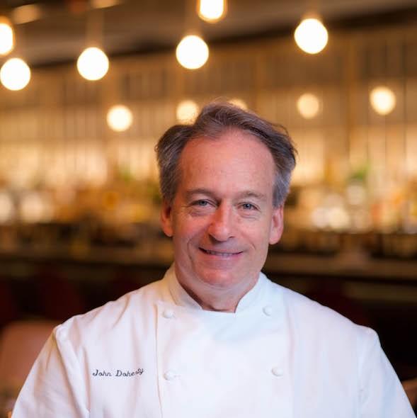 john doherty chef at black barn