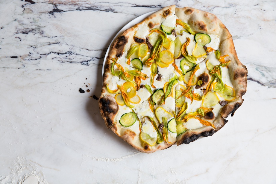 Learn more about Danny Meyer's pizzeria Marta and their Fiori di Zucca pizza
