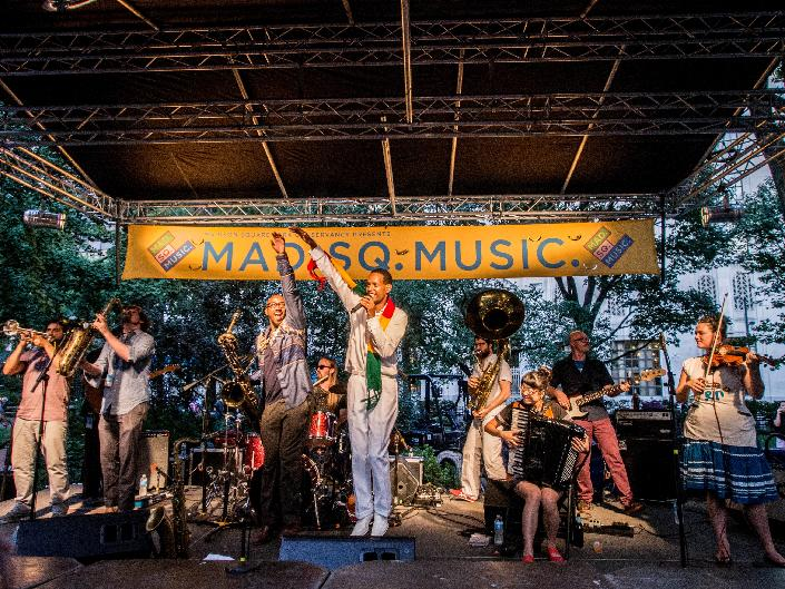 Learn about Madison Square Park's history, culture and programs like the Madison Square Music series