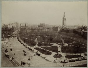 ExperienceNoMad discusses Madison Square Park's history as swamp lands and parade grounds