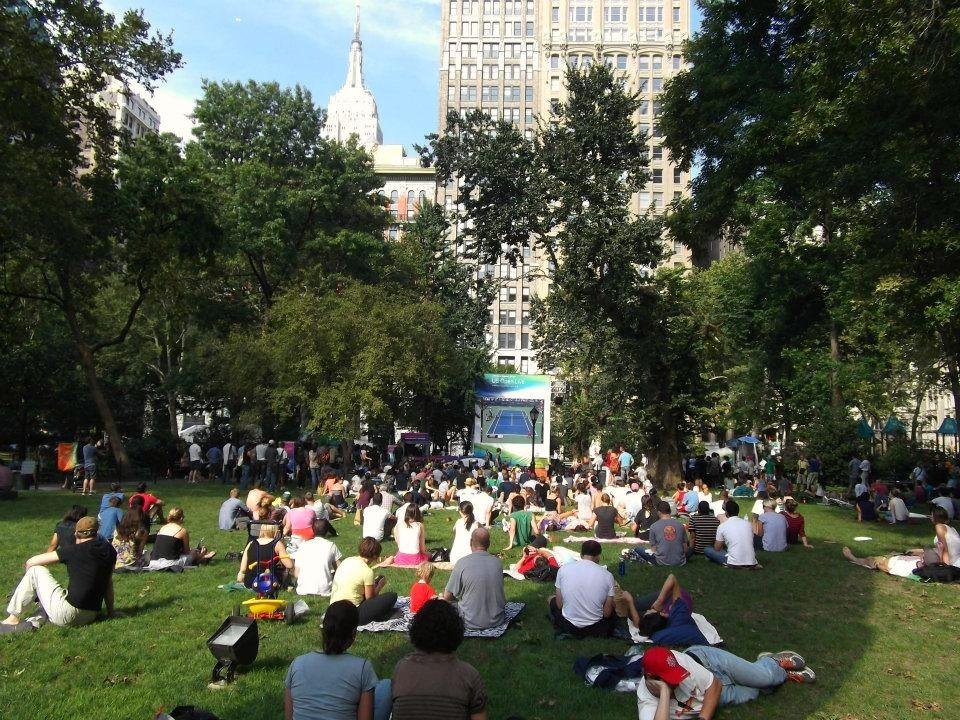 Celebrate 200 years of Madison Square Park with a timeline of the Park's evolution from swamplands to host of the US Open